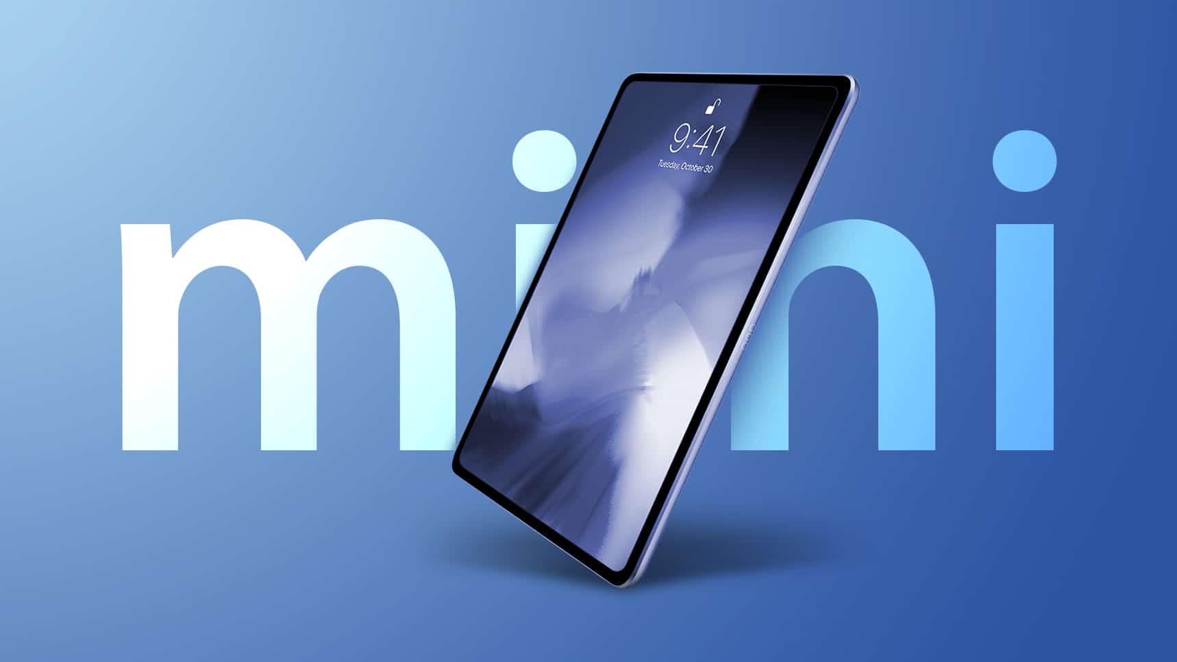 iPad mini 6 อาจจะมาพร้อมดีไซน์ใหม่กับชิป A15