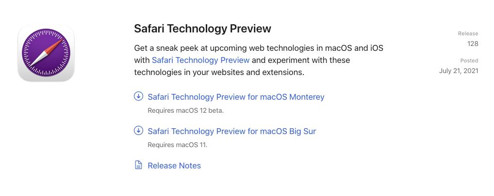 Apple ปล่อย Safari 15 ดีไซน์ใหม่ วิธีโหลด